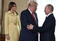 Putin'in Elini Sıkan First Lady Melania Trump'ın Yüz İfadesi ABD'de Gündem Oldu