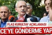 """CHP Genel Başkanı Kemal Kılıçdaroğlu, """"Türkiye'nin gündemine bir bakmamız lazım. İnsanlar hapishanel"""